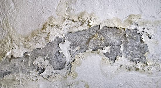 A photo showing a wall with Cavity wall insulation